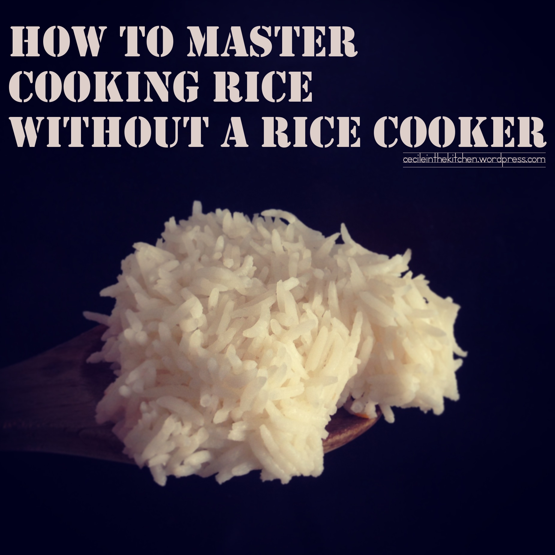 How To Cook Rice Without A Rice Cooker Solution For How To For
